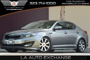 2013 Kia Optima SX Carfax Report - No AccidentsDamage Reported  Silver  All advertised prices