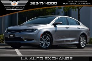 2016 Chrysler 200 Limited Carfax 1-Owner - No Accidents  Damage Reported to CARFAX  Billet Sil