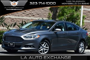 2013 Ford Fusion SE Carfax 1-Owner  Sterling Gray 16398 Per Month -ON APPROVED CREDIT ---