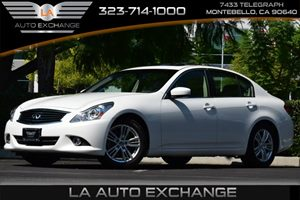 2013 Infiniti G37 Sedan Journey Carfax Report - No AccidentsDamage Reported  Moonlight White
