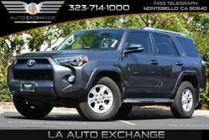 2014 Toyota 4Runner Limited Carfax 1-Owner 2 Seatback Storage Pockets 4-Way Passenger Seat 6 Cy