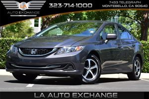 2015 Honda Civic Sedan SE Carfax 1-Owner - No Accidents  Damage Reported to CARFAX 132 Gal Fue