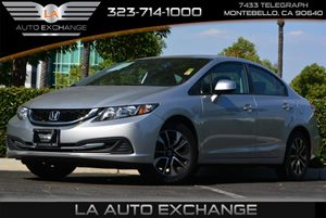 2013 Honda Civic Sdn EX Carfax Report - No AccidentsDamage Reported Air Conditioning  AC Body