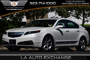 2012 Acura TL Tech Auto Carfax Report - No AccidentsDamage Reported 17 X 8 7-Spoke Alloy Whe