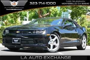 2015 Chevrolet Camaro SS Carfax Report - No AccidentsDamage Reported  Black 34492 Per Month