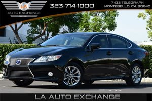 2014 Lexus ES 300h Hybrid Carfax Report - No AccidentsDamage Reported  Black  All advertised