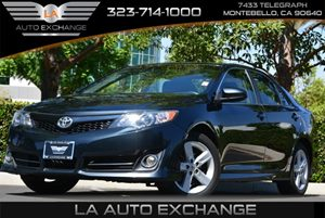 2013 Toyota Camry SE Carfax Report Adjustable Front  Rear Headrests Audio  Auxiliary Audio Inp