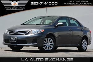 2013 Toyota Corolla LE Carfax Report - No AccidentsDamage Reported  Magnetic Gray Metallic 1