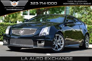 2012 Cadillac CTS-V Coupe  Carfax Report Child Seat Restraint System Convenience  Back-Up Camer