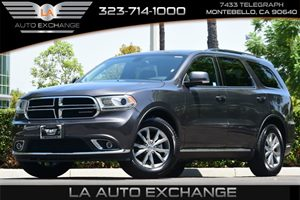 2015 Dodge Durango Limited Carfax 1-Owner  Gray  We are not responsible for typographical erro