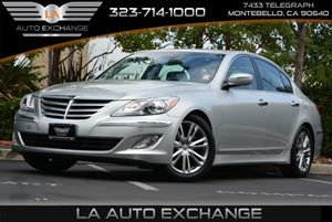 2013 Hyundai Genesis 38L Carfax 1-Owner  Silver  Happy Holiday Sale at LA Auto Exchange Great