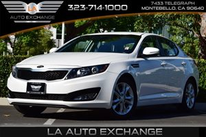 2013 Kia Optima LX Carfax 1-Owner Audio  Mp3 Player Convenience  Adjustable Steering Wheel Co