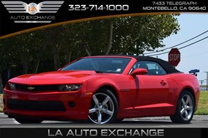 2015 Chevrolet Camaro LT Carfax Report Axle 327 Ratio Convenience  Adjustable Steering Wheel