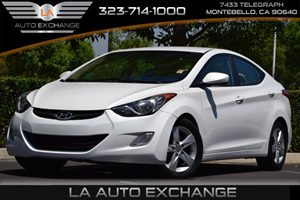 2013 Hyundai Elantra GLS Carfax Report - No AccidentsDamage Reported 4 Cylinders Air Conditioni