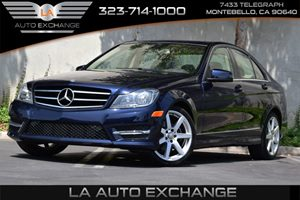 2014 MERCEDES C250 Luxury Sedan Carfax 1-Owner - No AccidentsDamage Reported 150 Amp Alternator