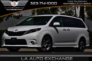 2014 Toyota Sienna SE Carfax Report 2 Seatback Storage Pockets 4 12V Dc Power Outlets 6 Cylinde