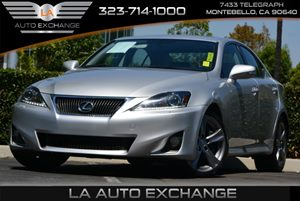 2012 Lexus IS 350  Carfax 1-Owner Air Conditioning  AC Convenience  Hid Headlights Convenien