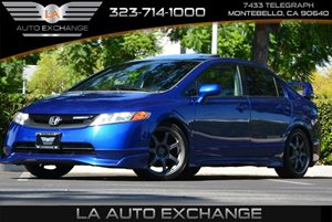 2008 Honda Civic Sdn Si Carfax 1-Owner - No AccidentsDamage Reported 4 Cylinders Body-Colored B