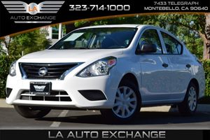 2015 Nissan Versa S Plus Carfax Report 108 Gal Fuel Tank 110 Amp Alternator Airbag Occupancy