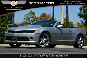 2015 Chevrolet Camaro RS Carfax 1-Owner - No AccidentsDamage Reported Audio  Premium Sound Syst