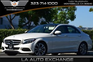 2015 MERCEDES C300 Sedan Carfax Report 4 Cylinders 5 Person Seating Capacity 7 Wheels Air Co