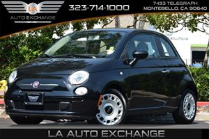2012 FIAT 500 Pop Carfax Report - No AccidentsDamage Reported 2 Front Cupholders 2 Rear Flo