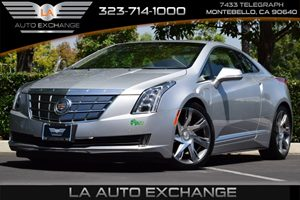 2014 Cadillac ELR  Carfax Report - No AccidentsDamage Reported  Radiant Silver Metallic  All