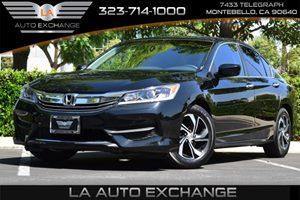 2016 Honda Accord Sedan LX Carfax 1-Owner - No AccidentsDamage Reported Airbag Occupancy Sensor