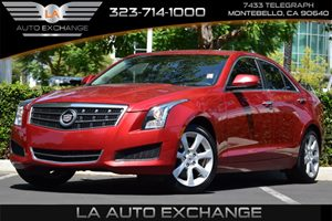 2013 Cadillac ATS  Carfax Report  Crystal Red Tintcoat  All advertised prices exclude governme