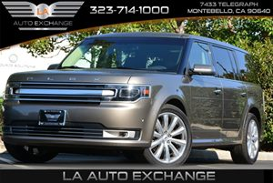 2013 Ford Flex Limited Carfax Report - No AccidentsDamage Reported 110V Inverter Chrome Door Ha