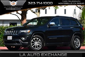2015 Jeep Grand Cherokee Limited Carfax Report 2 Seatback Storage Pockets 5 Person Seating Capac