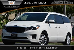 2016 Kia Sedona LX Carfax 1-Owner 4-Way Passenger Seat -Inc Manual Recline And ForeAft Movement