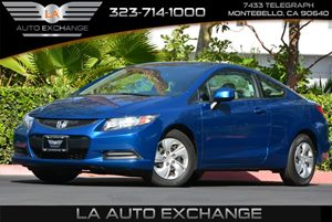 2013 Honda Civic Cpe LX Carfax 1-Owner - No AccidentsDamage Reported 4 Cylinders Air Conditioni