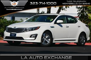 2015 Kia Optima Hybrid  Carfax Report 1 Seatback Storage Pocket 2 12V Dc Power Outlets 4 Cylind