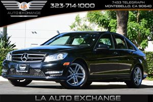 2014 MERCEDES C250 Luxury Sedan Carfax 1-Owner - No AccidentsDamage Reported 5 Person Seating Ca