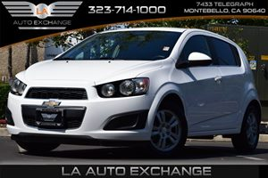 2014 Chevrolet Sonic LT Carfax Report - No AccidentsDamage Reported  Summit White  All advert