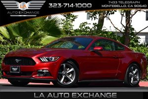 2015 Ford Mustang V6 Carfax 1-Owner - No AccidentsDamage Reported 2 Seatback Storage Pockets 4