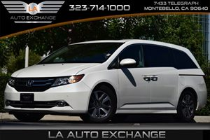 2014 Honda Odyssey Touring Carfax Report - No AccidentsDamage Reported 6 Cylinders Black Grille