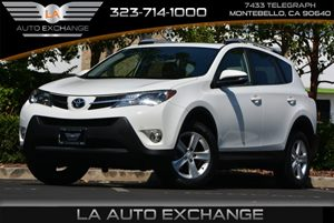 2013 Toyota RAV4 XLE Carfax Report - No AccidentsDamage Reported 17 Aluminum Wheels Acoustic