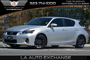2013 Lexus CT 200h Hybrid Carfax Report - No AccidentsDamage Reported Air Conditioning  AC Au