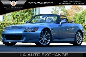 2006 Honda S2000  Carfax Report 12V Pwr Outlet 4 Cylinders Aero Wind Screen 2005 Air Conditi