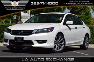 2014 Honda Accord Sedan Sport Carfax Report - No AccidentsDamage Reported  White Orchid Pearl