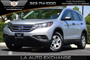 2013 Honda CR-V LX Carfax 1-Owner Child-Proof Rear Door Locks Convenience  Adjustable Steering