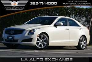 2014 Cadillac ATS Luxury RWD Carfax 1-Owner  White Diamond Tricoat  All advertised prices excl