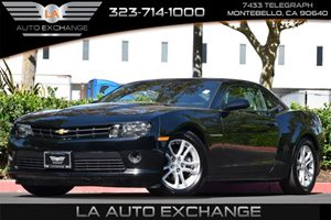 2015 Chevrolet Camaro LT Carfax 1-Owner 6 Cylinders Cold Cranking Amps  0- F Primary  - Tbd