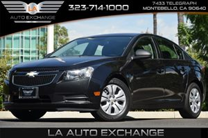2013 Chevrolet Cruze LS Carfax 1-Owner - No AccidentsDamage Reported 4 Cylinders Air Conditioni