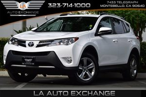 2015 Toyota RAV4 XLE Carfax Report 4071 Axle Ratio Airbag Occupancy Sensor Convenience  Adjus