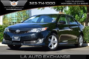 2013 Toyota Camry SE Carfax 1-Owner - No AccidentsDamage Reported 6 Bottle Holders 4 Cylinder