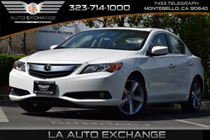 2013 Acura ILX Premium Pkg Carfax Report 12V Pwr Outlets 17 X 70 Alloy Wheels 4 Cylinders