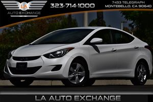2013 Hyundai Elantra GLS Carfax Report - No AccidentsDamage Reported  Pearl White Mica 1491
